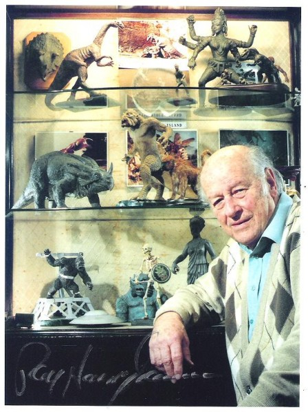 Ray Harryhausen and his works.