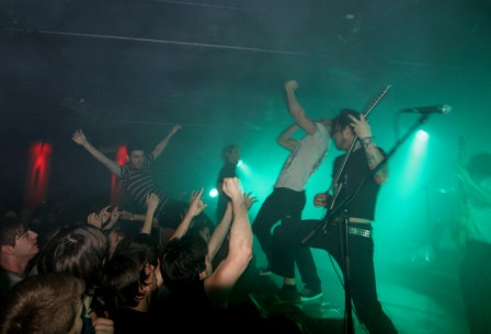 The Dillinger Escape Plan, rocking.
