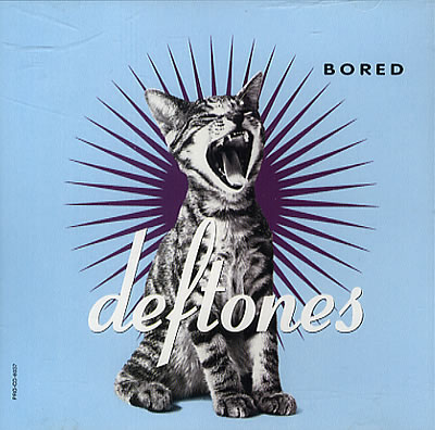 Deftones' cover for their single Bored